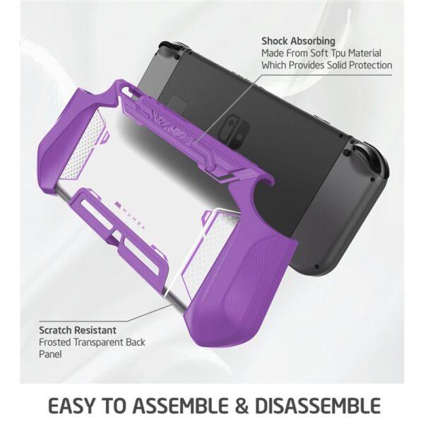 Etuis de protection ergonomique pour Nintedo Switch Gaming 7