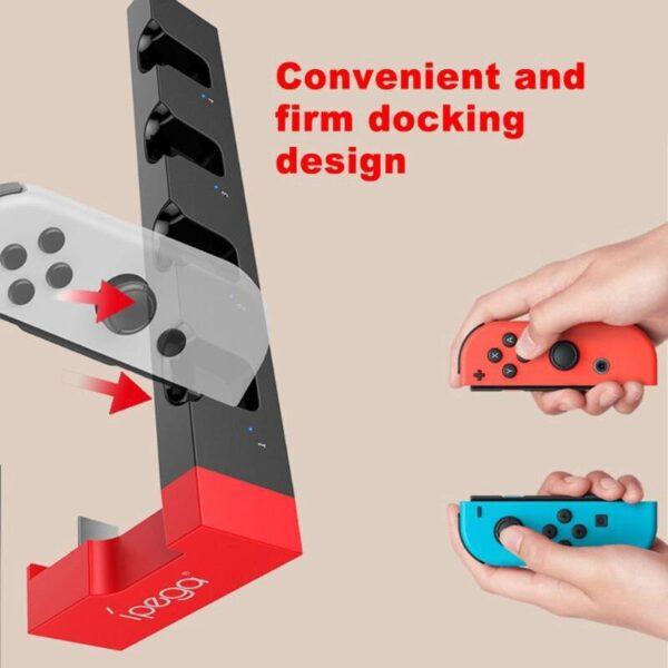 Dock de charge pour Joycon Nintendo Switch Gaming 5
