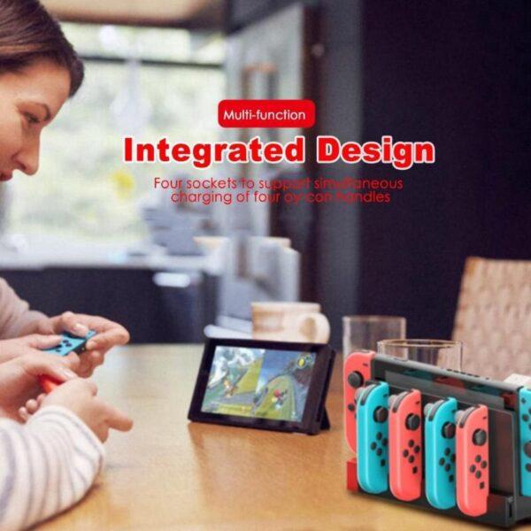 Dock de charge pour Joycon Nintendo Switch Gaming 7