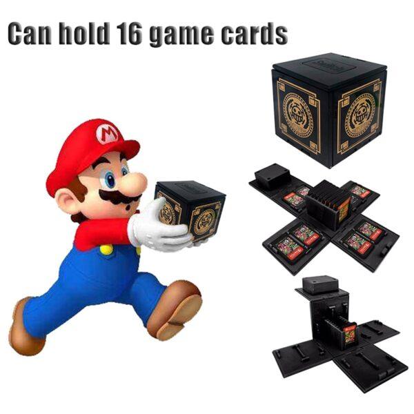 Boite pour 16 jeux Nintendo Switch Gaming 3