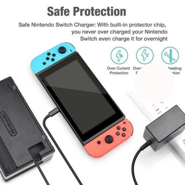 Adaptateur secteur USB-C pour Nintendo Switch Gaming 6