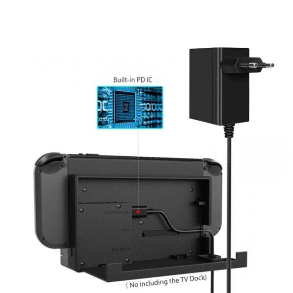 Adaptateur secteur USB-C pour Nintendo Switch Gaming 4