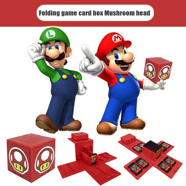 Boite pour 16 jeux Nintendo Switch Gaming 5