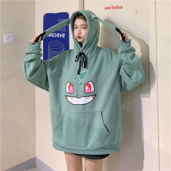 Sweat à capuche Pokemon femme Geek 3
