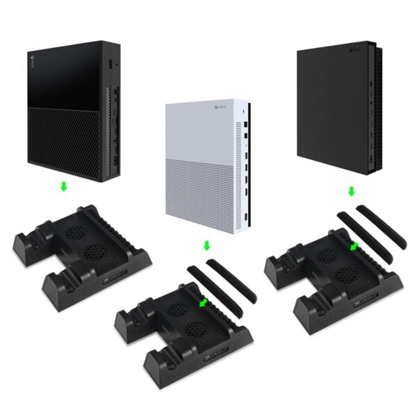 Support de ventilation pour Microsoft XBOX One / One S / One X Gaming 4