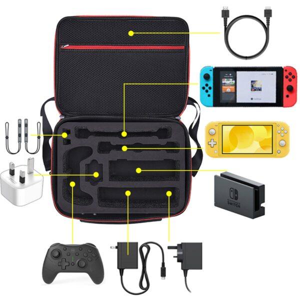 Malette de transport Nintendo Switch Gaming 4