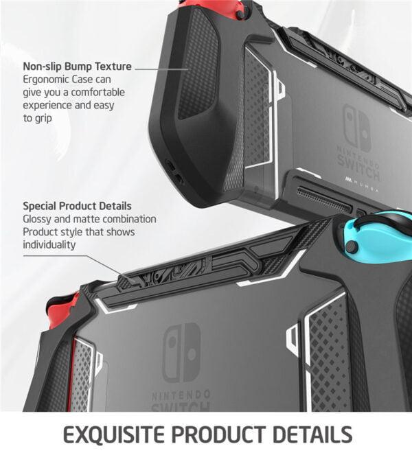 Etuis de protection ergonomique pour Nintedo Switch Gaming 3